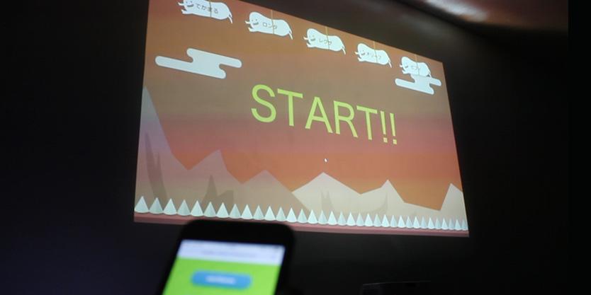 スマホで簡単操作。忘年会やイベントにインタラクティブなゲーム「ちきちきチキンレース」!!