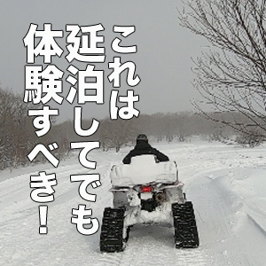 ー盛岡下車ー日本初のスノーバギーで取り戻す野生の本能